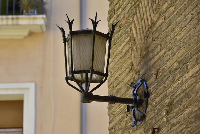 pouliční lampa