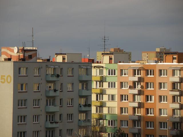 panelový dům