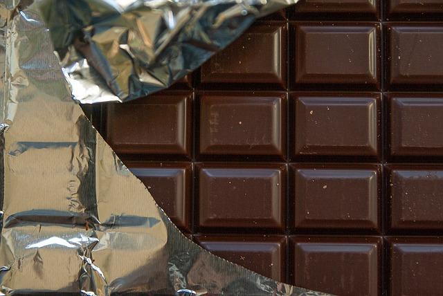 tabulka čokolády