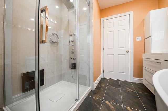 I v koupelně se můžete těšit z elegantního nábytku